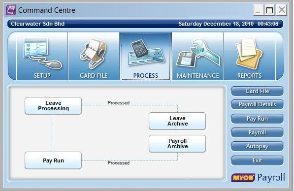 Payroll Command Centre